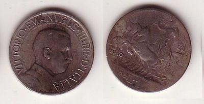 1 Lire Silber Münze Italien 1910 Quadriga 114442 Nr 232587908161
