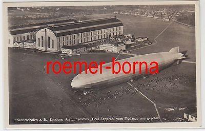 78329 Ak Friedrichshafen a.B. Landung des Luftschiffes