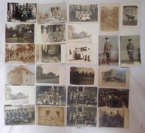 100 alte Ansichtskarten Militaer meist 1. Weltkrieg (102756)