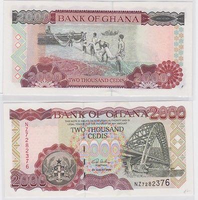 2000 Cedis Banknote Bank of Ghana 2006 (123365)
