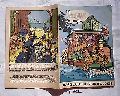 Seltenes Mosaik Heft Hannes Hegen Digedags Nr.181 Schwarze Serie (114913)