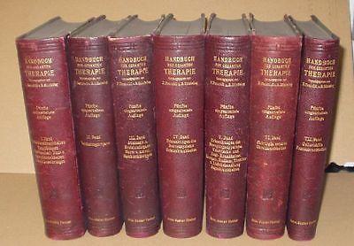Handbuch der gesamten Therapie (Nr.15503)