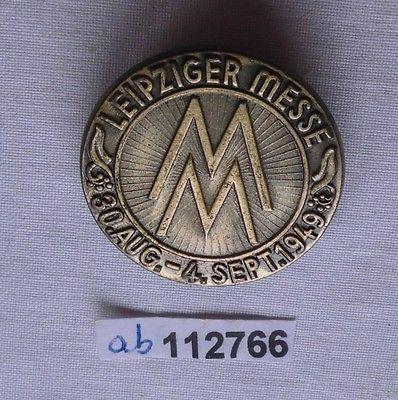 Abzeichen Leipziger Herbstmesse 1949 Einkäuferabzeichen (112766)