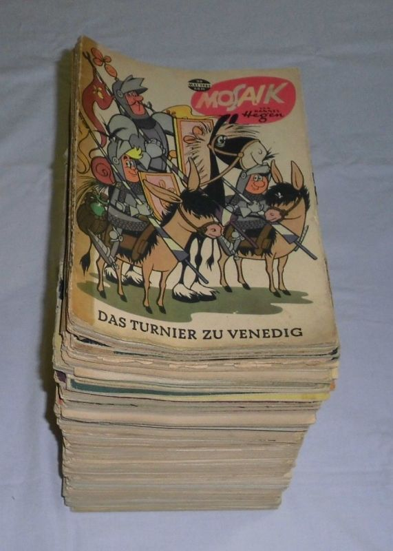 Mosaik von Hannes Hegen Digedags 90 bis 229 komplett (140 Hefte) (118982)