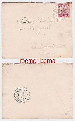 80463 Brief Deutsch Südwest Afrika Stempel Karibib 1904 Nr