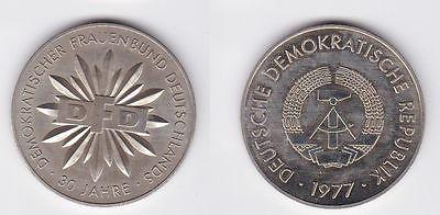 DDR Medaille 30 Jahre DFD Demokratischer Frauenbund 1977 (105494)