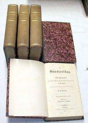 Das Hauslexikon - Enzyklopädie praktischer Lebenskenntnisse (Nr.21107)
