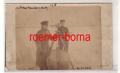 79861 Foto Ak Luftschiffer Ersatzabteilung Nr.4 bei der Arbeit 1.Weltkrieg 1915