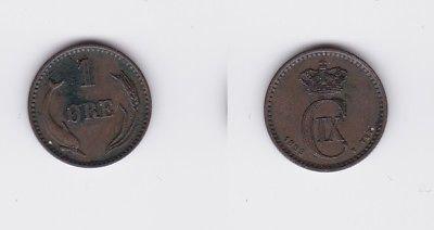 1 Öre Kupfer Münze Dänemark 1899 (118072)