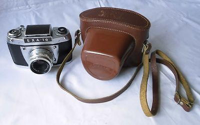 EXA 1a Objektiv Tessar Carl Zeiss Jena 2,8/50 Spiegelreflexkamera Kamera(110491)