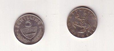 5 Schilling Silber Münze österreich 1964 114528 Nr 332494568328