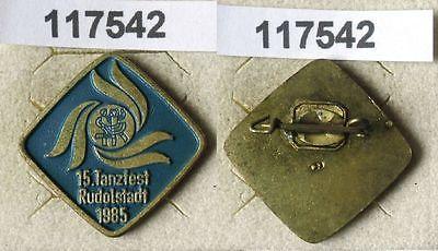 DDR Abzeichen 15.Tanzfest der DDR Rudolstadt 1985 (117542)