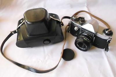 Pentacon Kamera Praktika super TL 1000 + Domiplan automatic lens (108317)