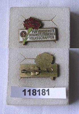 DDR Abzeichen für Verdienste im künstlerischen Volksschaffen (118181)