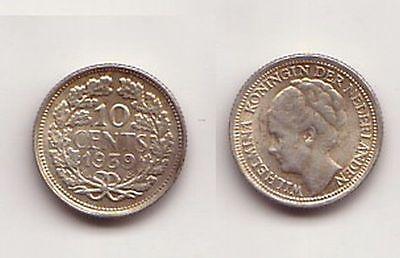 10 Cent Silber Münze Niederlande 1939 114621 Nr 332476114816