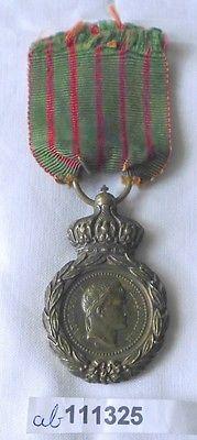 Bronze Medaille Napoléon I., Medaille de St. Helena am Band (111325)