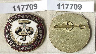 Emaillierte DDR Medaille Maschinenbau (117709)