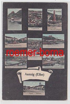 73317 Mehrbild Ak Aussig (Elbe) Ústí nad Labem 1905