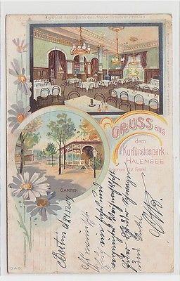 71764 Ak Gruss aus dem Kurfürstenpark Halensee, Mehransicht, 1909