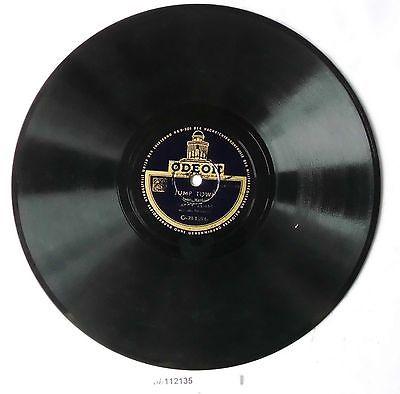 Schellackplatte Odeon: James Session + Jump Town um 1930 (112135)