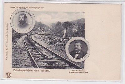 70839 AK Zahnstangeneinfahrt hinter Rübeland - Albert Schneider & Roman Abt