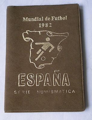 Original Kursmünzsatz Spanien 1980 Mit 6 Münzen Fussball Wm 1982