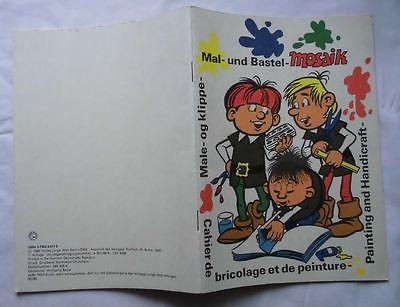 Seltenes Abrafaxe Mosaik Malheft A5 Format 1988 (114335)