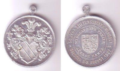 Studentika Aluminium Medaille 50 jährige Stiftungsfest Wingolf Giessen 1902