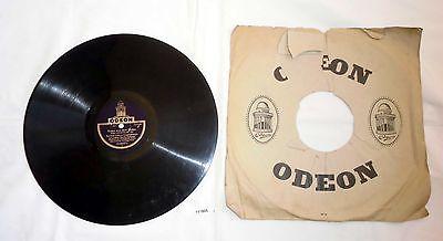 111605 Schellackplatte Odeon