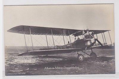 17241 W.Sanke Ak Albatros Militär Doppeldecker Flugzeug 1.Weltkrieg