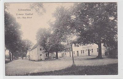 71202 Ak Schmorkau bei Neukirch in Sachsen Unterer Gasthof 1918