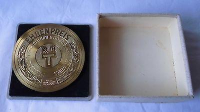 Seltene DDR Medaille Ehrenpreis der KdT im VEB Mansfeld Kombinat (118933)