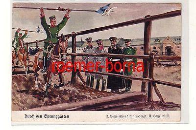 81233 Ak 2.Bayerisches Ulanen Regiment II.Bayr.A.K. um 1930