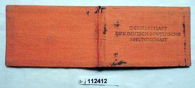 DDR Mitgliedsbuch Gesellschaft für deutsch sowjetische Freundschaft (112412)