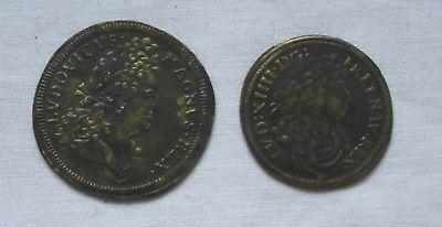 LOUIS XIV Rechenpfennig um 1700 v. Cornelius & Lazarus Gottlieb Lauffer (113332)