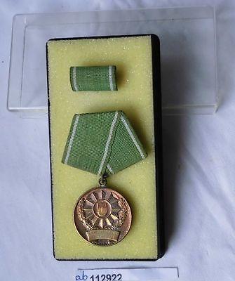DDR Medaille für ausgezeichnete Leistungen MdI im Etui (112922)