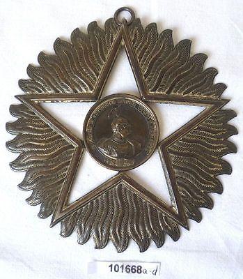 Alte Silber Medaille 18. Mitteldeutsches Bundesschiessen Eisleben 1899