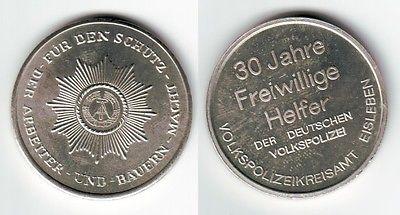 DDR Medaille Freiwilliger Helfer der deutschen Volkspolizei Eisleben (111954)