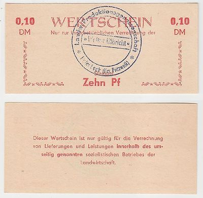 10 Pfennig Banknote DDR LPG Geld Kakerbeck Kreis Pritzwalk (116514)