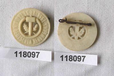 DDR Abzeichen Festtag des Deutschen Handwerks 1955 (118097)