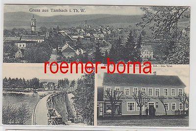 74832 Mehrbild Ak Gruß aus Tambach in Thüringen Gasthaus um 1910