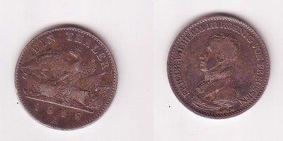 1 Taler Silber Münze Preussen Friedrich Wilhelm Iii 1818 A 105262