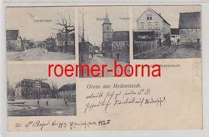 80537 Mehrbild Ak Gruss aus Medewitzsch Gasthof, Dorfstrasse usw. um 1910