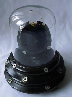 Glas & Holz Ständer Taschenuhrenhalter für Taschenuhr um 1900 (111052)