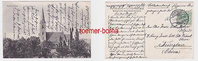 84844 Ak Aschersleben St.Stephanikirche nach Tsingtau 1908