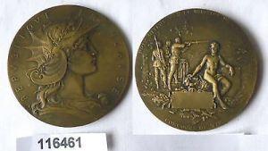Bronze Medaille PRIX DE TIR OFFERT PAR LE MINISTRE / GUERRE (116461)