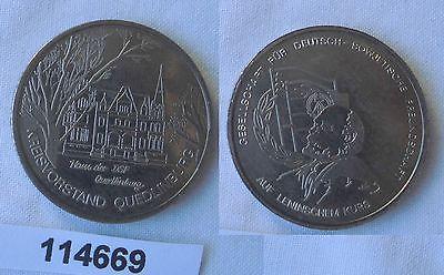 DDR Medaille Kreisvorstand Quedlinburg Haus der DSF (114669)