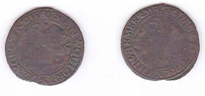 Alte Kupfer Medaille 17.Jahrhundert (118868)