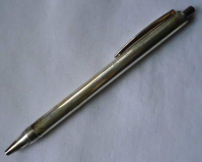 Alter Kugelschreiber Silber Dank für 40 Jahre Mitgliedschaft IG Metall (115004)