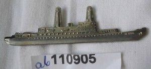 Alte Krawattennadel mit Motorschiff Lenin (110905)